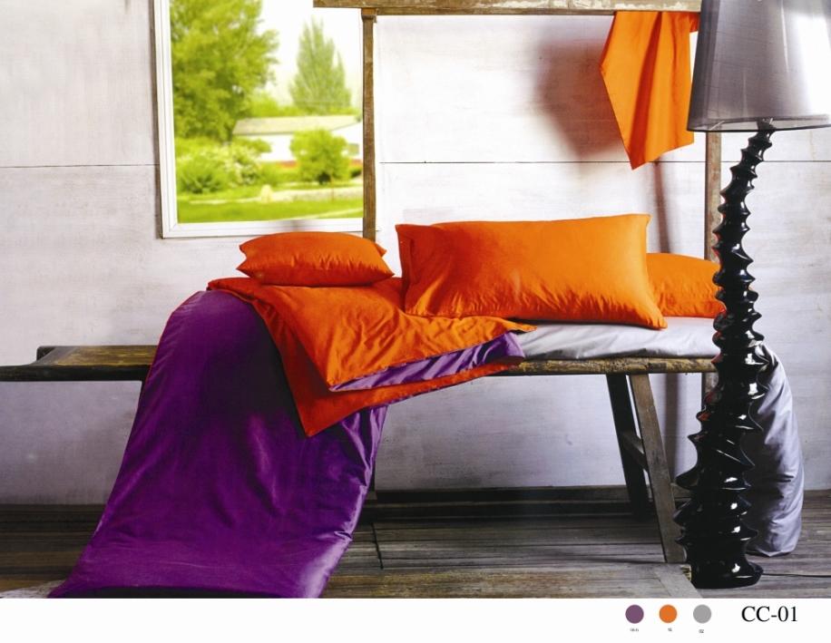 Комплект белья Arya, семейный, наволочки 50x70, 70x70, цвет: оранжевый, фиолетовыйTR00002200Комплект постельного белья линии Сатин изготовлен из двустороннего однотонного хлопкового сатина. Сатин – прочная и плотная ткань с диагональным переплетением нитей. Хлопковый сатин по мягкости и гладкости уступает атласу, зато не будет соскальзывать с кровати. Сатиновое постельное белье легко переносит стирку в горячей воде, не выцветает. Прослужит комплект из обычного сатина меньше, чем из сатина повышенной плотности, но дольше белья из любой другой хлопковой ткани. Сатин приятен на ощупь, под ним комфортно спать летом и зимой. Компания Arya создана в 1992 году в Стамбуле, вскоре она стала лидером турецкого рынка текстиля. Бренд следует всем веяниям моды, это касается современных дизайнов, инновационных материалов. На нашем сайте вы встретите комплекты из бамбука и эвкалипта, а также из традиционных материалов: сатина, жаккарда, шелка. Все товары соответствуют санитарным и гигиеническим нормам, принятым в России. Готовые изделия в красивых упаковках продают в Турции, России и СНГ....