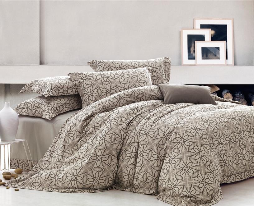 Комплект белья Arya Ligia, 2-х спальный, наволочки 50x70, цвет: кремовыйF0007559Комплект постельного белья линии Romance Жаккард изготовлен из хлопкового жаккарда. Жаккард – это ткань с уникальным рисунком, который создают на специальном станке. Из-за сложного плетения эта ткань довольно жесткая, поэтому используют ее только для верхней стороны пододеяльника и наволочек. Хлопковый жаккард соединяет в себе все плюсы натуральной ткани и сложного плетения: хорошо впитывает влагу, дышит, долговечен и прочнее любой ткани, кроме натурального шелка. В сатине высокой плотности нити очень сильно скручены, поэтому ткань гладкая и немного блестит. Комплект из плотного сатина прослужит дольше любого другого хлопкового белья. Благодаря диагональному пересечению нитей, он почти не мнется, но по гладкости и мягкости уступает атласным тканям. Производитель данного постельного белья- Компания Arya- создана в 1992 году в Стамбуле. Довольно быстро она стала лидером турецкого рынка текстиля. Бренд следует всем веяниям моды, это касается как современных дизайнов, так и...
