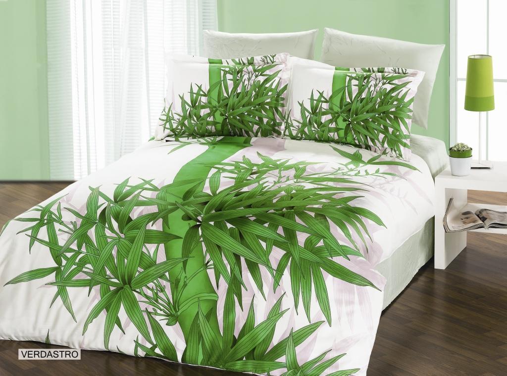 Комплект белья Arya Verdastro, 2-х спальный, наволочки 50x70, 70x70, цвет: светло-зеленыйF0003149Комплект постельного белья линии Бамбук изготовлен из бамбукового сатина. Постельное белье из бамбука по своим качествам превосходит хлопковый сатин: бамбук не вызывает аллергии, не накапливает статическое электричество, обладает бактерицидными свойствами. Благодаря сатиновому переплетению нитей, бамбуковое постельное белье очень прочное и прослужит вам много лет. Эта ткань почти не мнется. Чтобы получить мягкие и прочные волокна, стебли бамбука подвергают термической обработке. Как и любая другая ткань, бамбуковый сатин на 100% состоит из натуральных волокон. Производитель данного постельного белья- Компания Arya- создана в 1992 году в Стамбуле. Довольно быстро она стала лидером турецкого рынка текстиля. Бренд следует всем веяниям моды, это касается как современных дизайнов, так и инновационных материалов. На нашем сайте вы встретите комплекты из бамбука и эвкалипта, а также из традиционных материалов: сатина, жаккарда, шелка. Все товары соответствуют санитарным и гигиеническим...