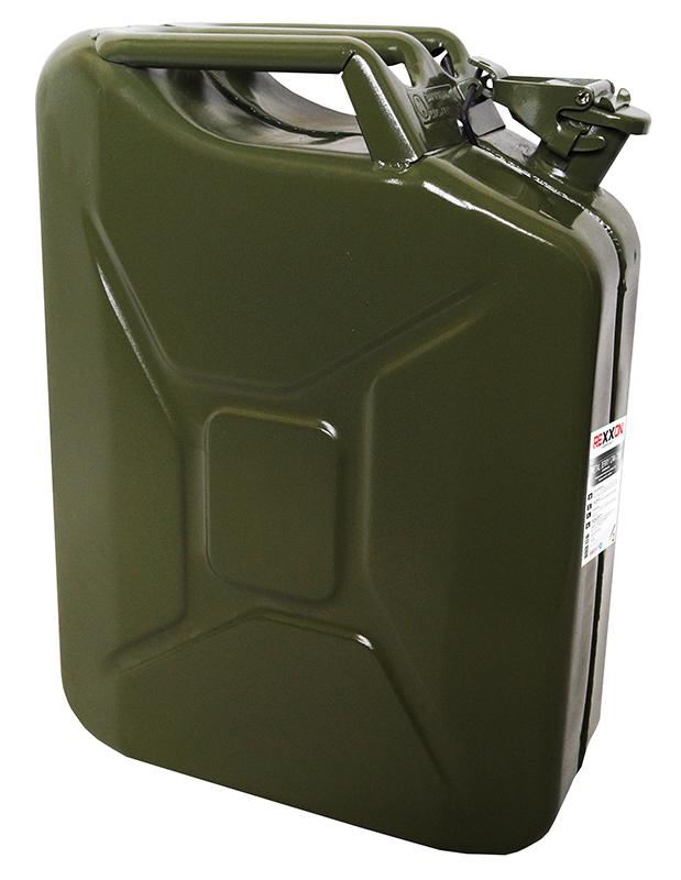 Канистра REXXON, с разрешением для бензина, металлическая, 20 л434710