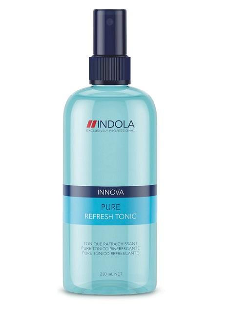 Indola Pure – Освежающий тоник 250 мл1705797/213577Indola Pure Освежающий тоник. Этот довольно эффективный тоник для волос не имеет в структуре формулы силикона и необходим для придания молодости и свежести волосам, а также хорошо их защищает. Разработчики этого уникального средства включили в его структуру протеин, который позволяет насытить каждый волос всеми необходимыми питательными микроэлементами. Именно он позволяет сохранить жизненную энергию любой прически целиком. Необходимо использовать тоник перед началом процесса укладки волос. Тоник позволит придать волосам блеск, сделает их эластичными, при этом они будут великолепно выглядеть. Он предотвратить преждевременное старение волос и предохранит от преждевременного выпадения волос. Приятный аромат тоника, предаст вам уникальность и сделает вас привлекательнее. Такие качества делают этот тоник уникальным и эффективным средством для повседневного ухода за волосами.