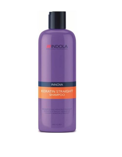 Indola Кератиновое выпрямление шампунь Keratin Straight Shampoo – 300 мл1613479/176421 СТИКIndola Innova Keratin Straight - Шампунь для выпрямления волос Данный очищающий шампунь необходимо использовать как 1 из 5 шагов процедуры керативного выпрямления волос. Благодаря новой формуле, содержащией Кератин-полиер, волосы покрываются защитной оболочкой, которая помогает их выпрямить и не дает завиться. При применении всего комплекса кератинового выпрямления волос из 5 шагов: Шампунь, Кондиционер, Бальзам, Маска, Масло Indola Вам обеспечены гладкие, прямые волосы, которые будут выглядеть идеально до 2 суток!