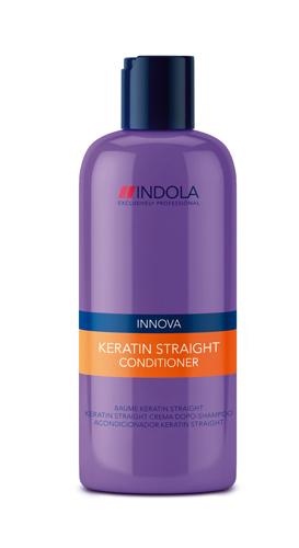 Indola Кератиновое выпрямление кондиционер Keratin Straight Conditioner – 250 мл1613482/176391СТИКДанный питательный кондиционер необходимо использовать как 2 из 5 шагов процедуры кератинового выпрямления волос Indola Keratin straight. Волосы становятся более послушными, даже самые сложные, вьющиеся и непокорные легко расчесывают. При использовании всего комплекса кератинового выпрямления волос из 5 шагов, состоящего из использования Шампуня, Кондиционера, Бальзама, Маски и Масла Ваши волосы сохранят идеальную гладкость до 48 часов!