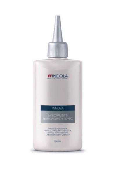 Indola Тоник для роста волос Innova Specialists Hairgrowth Tonic - 100 мл1507252/154467 СТИКТоник Indola Innova Specialists Hairgrowth - средство, стимулирующее рост волос. В его состав входят таурин и тартрат карнитин, которые сделают ваши волосы более сильными, а также обеспечат интенсивное деление клеток. Тоник способствует увеличению густоты волос, благодаря стимулированию деятельности кожи головы. Применение тоника одновременно с шампунем даст ощутимый эффект.