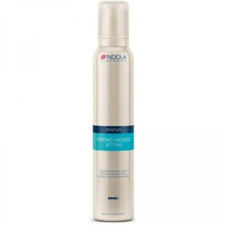 Indola Мусс для волос сильной фиксации Innova Setting Strong Mousse - 300 мл