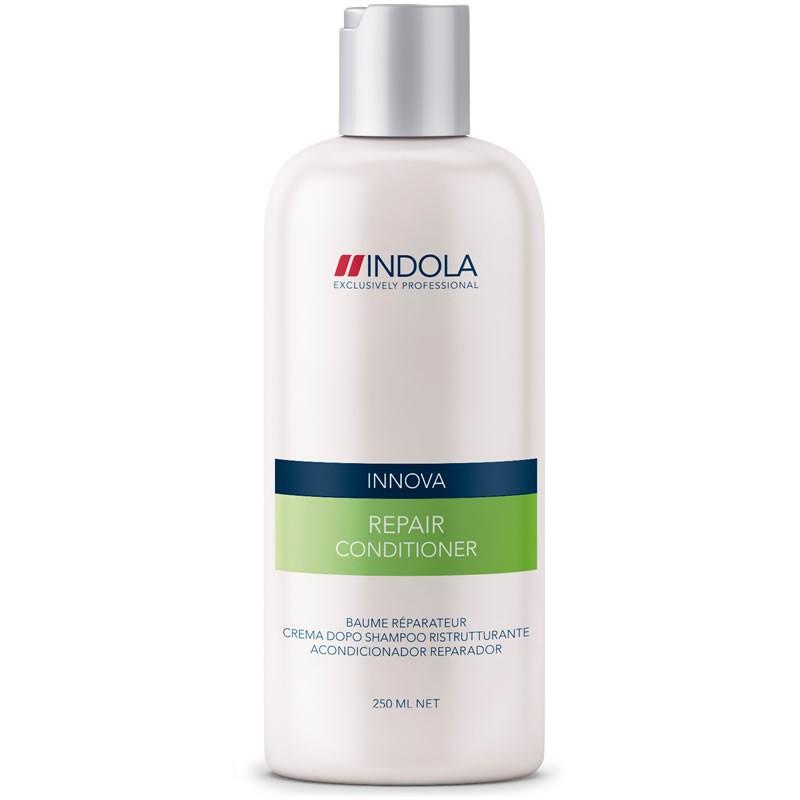 Indola Кондиционер восстанавливающий для волос Innova Repair Conditioner - 250 мл1509111/155723СТИКIndola Innova Repair Conditioner - Кондиционер восстанавливающий Кондиционер Indola repair conditioner создан специально для быстрого оздоровления поврежденных волос. Содержит восстановительный комплекс с аминокислотами, провитамином В5 и протеином пшеницы. Насыщает волосы влагой, избавляет от сухости, придает волосам здоровый внешний вид. Волосы становятся эластичными, блестящими и отлично укладываются. Кондиционер восстанавливающий Indola repair conditioner защищает волосы от вредных воздействий.