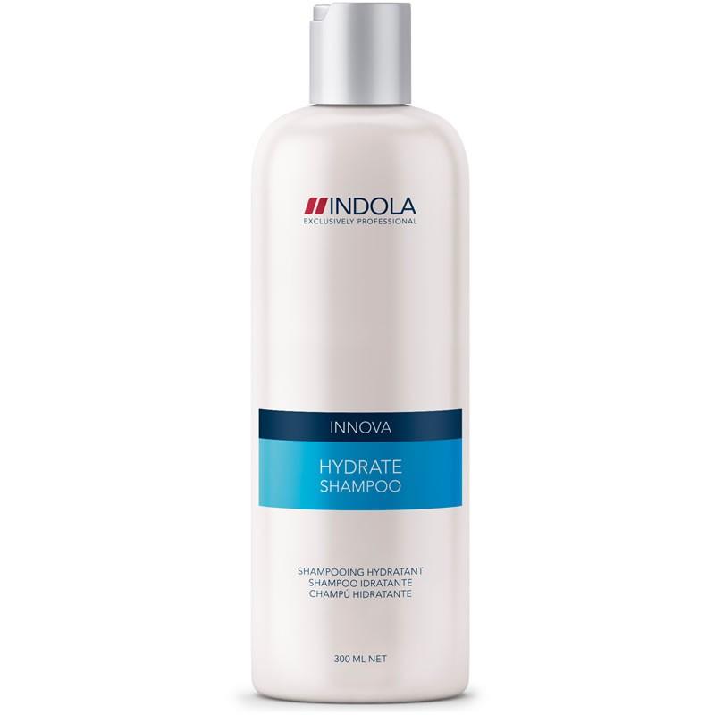 Indola Шампунь увлажняющий для волос Innova Hydrate Shampoo - 300 мл1508046/154429СТИКIndola Innova Hydrate Shampoo - Увлажняющий шампунь Увлажняющий шампунь Indola hydrate shampoo обеспечивает нежное очищение нормальным и чувствительным волосам при мытье. Содержит специальный комплекс с молочком побегов бамбука, аминокислотами и витаминами группы В, который позволяет оставить неизменным нормальный водный баланс или, при необходимости, добавить увлажнения волосам. После использования шампуня Indola hydrate shampoo волосы становятся упругими и здоровыми.