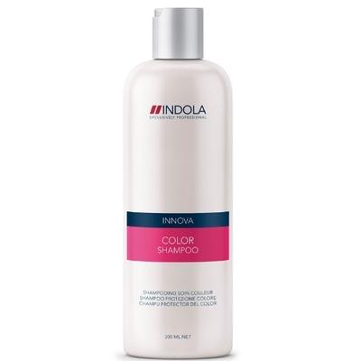 Indola Шампунь для окрашенных волос Innova Color Shampooing - 300 мл1504765/154320СТИКМягкая формула шампуня Indola Innova Color Shampooin, содержащая минералы, УФ-фильтры и гидролизованный кератин, создана специально для окрашенных волос. Бережно очищая, сохранит глубину цвета ваших волос. Идеальный уход на каждый день.