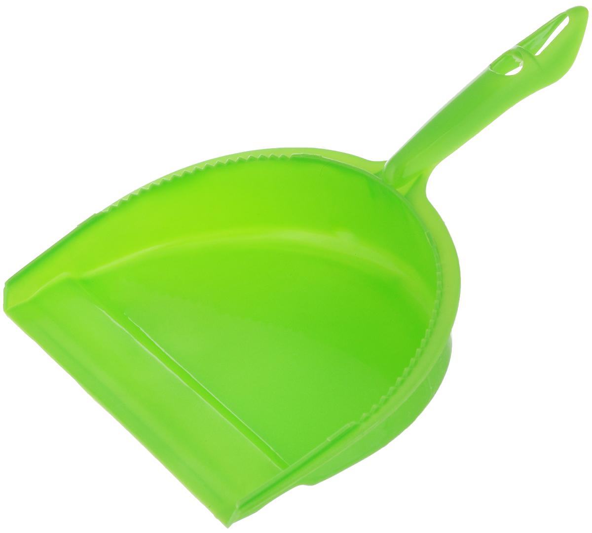 Совок для мусора Фэйт Джокер, цвет: зеленый1.4.02.1862Совок Фэйт Джокер предназначен для сбора мусора и пыли при уборке помещений. Он выполнен из прочного пластика и имеет удобную эргономическую ручку. Длина совка: 28,5 см. Ширина совка: 21 см.
