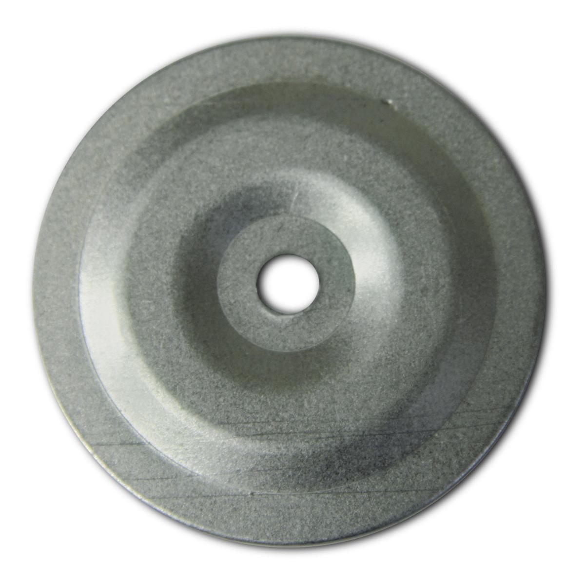 Шайба дожимная Госкрепеж, СК 50/6, 50 х 50 х 0,5 мм, 50 штКР.090917Шайба дожимная применяется для крепления теплоизоляции, пароизоляции и гидроизоляции на плоской кровле. Так же может служить универсальным фиксатором теплоизоляции в бытовых условиях. Крепление производится к деревянному основанию, либо к профлисту (от этого зависит выбор самореза).