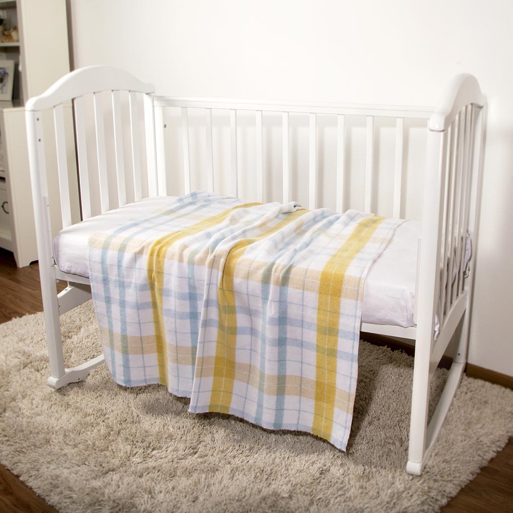 Baby Nice Одеяло детское Клетка цвет голубой ( D375014 )
