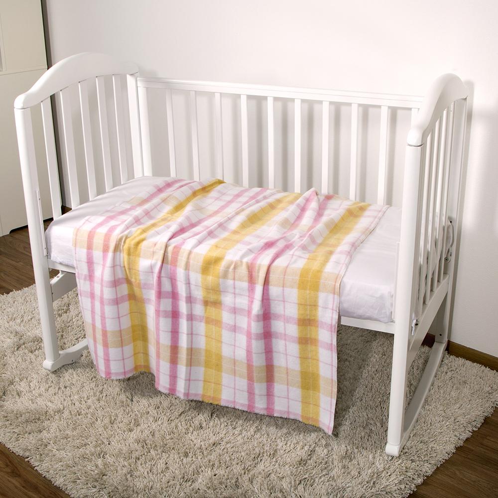 Baby Nice Одеяло детское Клетка цвет розовый ( D375014 )