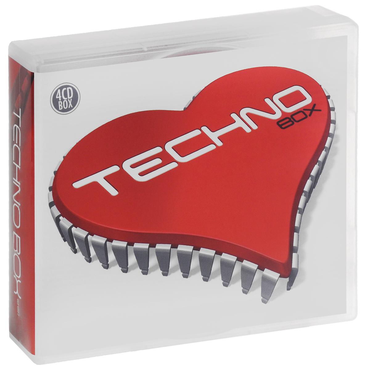 Techno Box (4 CD) 4 Audio CD