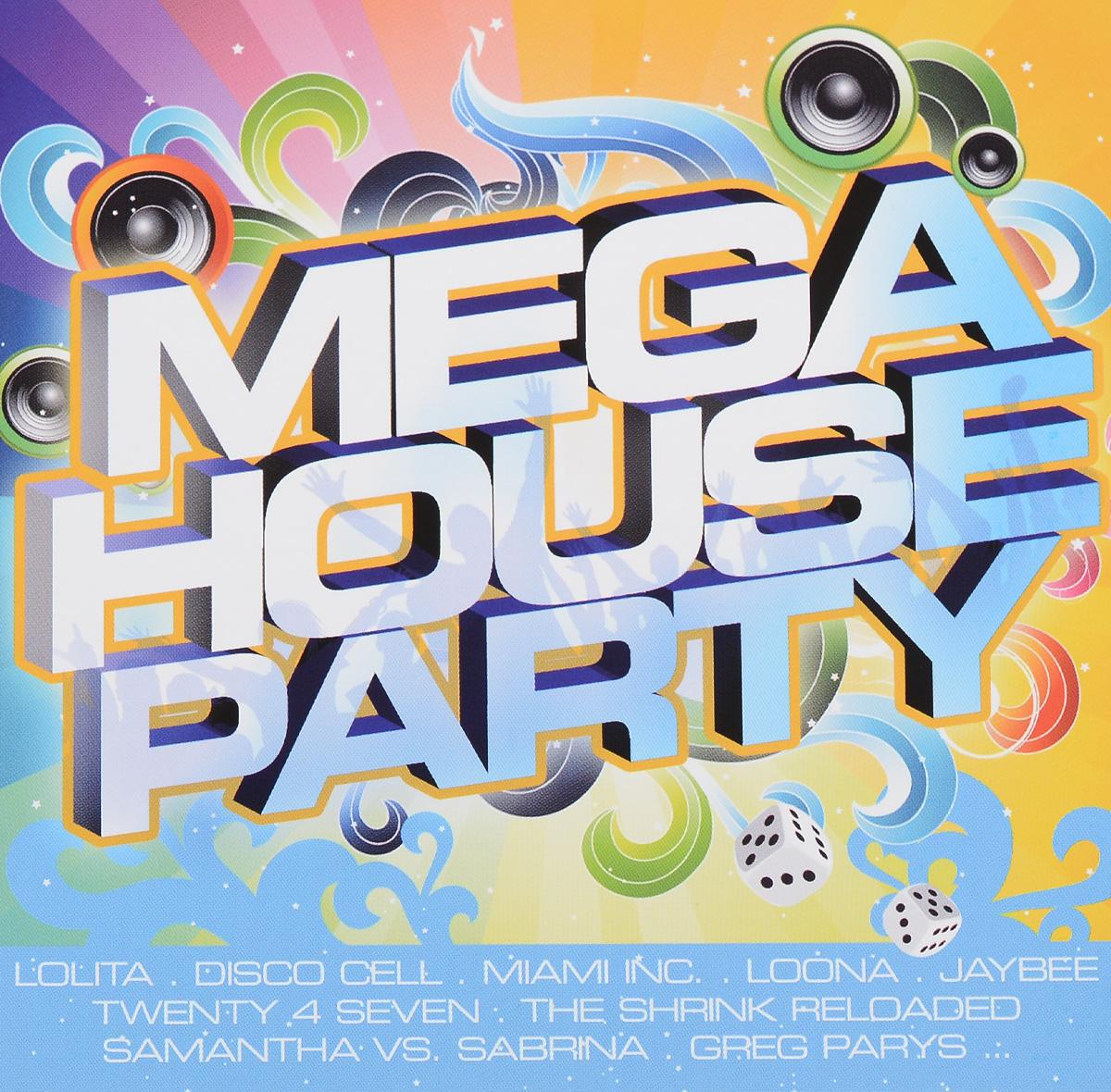 Mega House Party (2 CD) 2010 2 Audio CD
