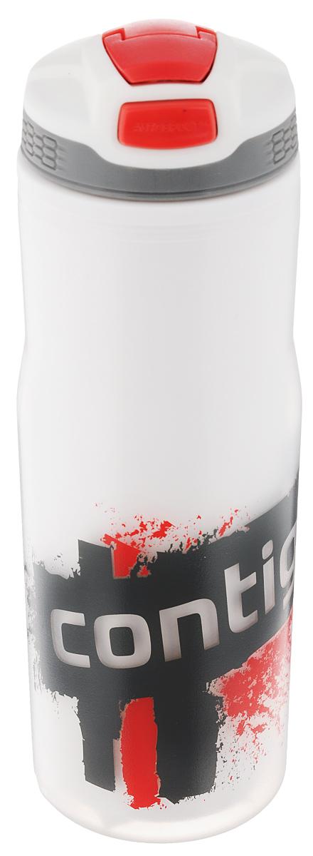 Бутылка для воды Contigo Devon Insulated, цвет: белый, красный, серый, 650 млcontigo0187Бутылка для воды Contigo Devon Insulated изготовлена из высококачественного пластика, безопасного для здоровья. Закручивающаяся крышка с герметичным клапаном для питья обеспечивает защиту от проливания. Оптимальный объем бутылки позволяет взять небольшую порцию напитка. Она легко помещается в сумке или рюкзаке и всегда будет под рукой. Такая идеальная бутылка небольшого размера, но отличной вместимости наполняет оптимизмом, даря заряд позитива и хорошего настроения. Бутылка для воды Contigo Devon Insulated - отличное решение для прогулки, пикника, автомобильной поездки, занятий спортом и фитнесом. Высота бутылки (с учетом крышки): 22 см. Диаметр дна: 6,5 см.