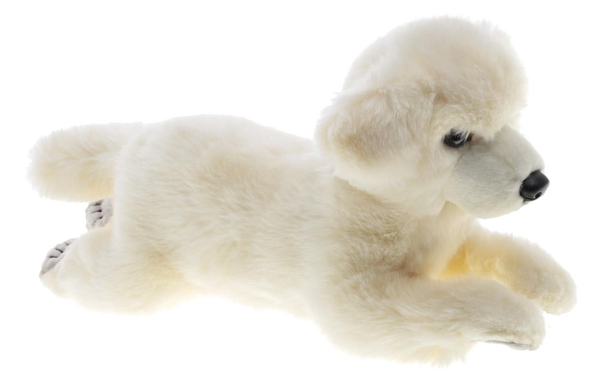 Hansa Toys Мягкая игрушка Собака Себастьян 42 см6390Мягкая игрушка Hansa Toys Собака Себастьян выполнена в виде милого песика с мягкой шерсткой. Собачка лежит, вытянув лапки вперед. Игрушка изготовлена из искусственного меха, текстиля. Глазки и носик изготовлены из пластика. С таким другом можно устроить любую увлекательную сюжетно-ролевую игру. Удивительно мягкая игрушка принесет радость и подарит своему обладателю мгновения нежных объятий и приятных воспоминаний.