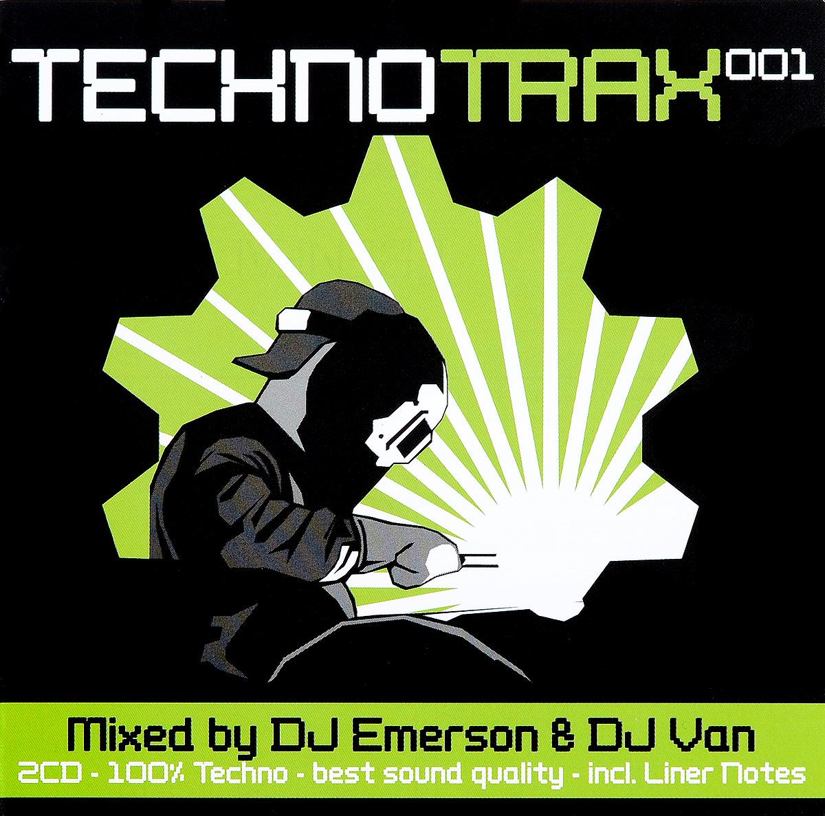 Techno Trax 001 (2 CD) 2014 2 Audio CD