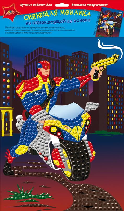 Апплика Мозаика сияющая СуперменС2258-04Сияющая мозаика на самоклеящейся основе А4 из фольгинированного мягкого пластика ЭВА. Набор состоит из: пронумерованной цветной основы, цветной самоклеящейся мозаики из фольгинированного мягкого пластика, самоклеящихся элементов для декорирования.
