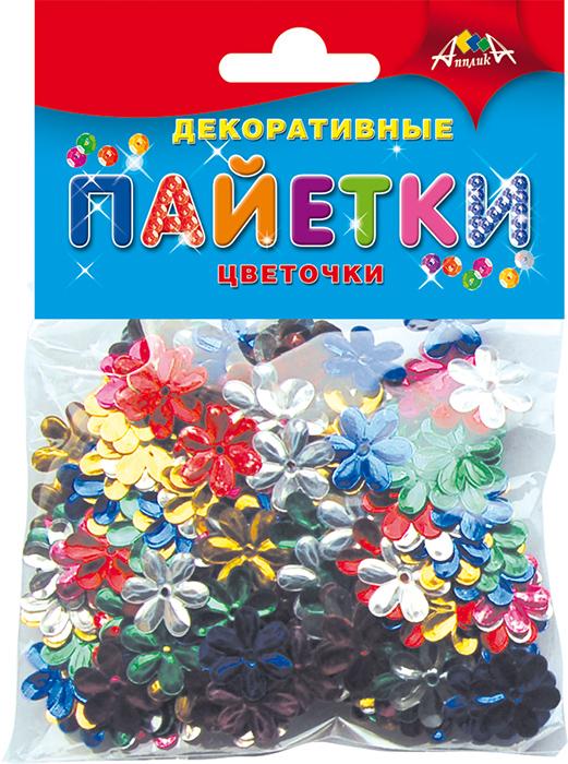 Апплика Набор для увлечений Декоративные пайетки Цветочки ( С2896-01 )