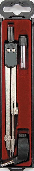 Perfecta Готовальня Studio 3 предмета SG.3PR/U*SG.3PR/U*Готовальня Perfecta Studio с малым циркулем предназначена для учащихся старших и средних классов. В набор входят: металлический циркуль с коленным соединением, пластиковым держателем и подстраиваемой иглой, держатель для карандаша и запасной грифель в контейнере. Инструменты упакованы в пластиковый футляр с прозрачной крышкой. Благодаря высокому качеству материалов и сборки, надежные чертежные инструменты Perfecta прослужат вам много лет.