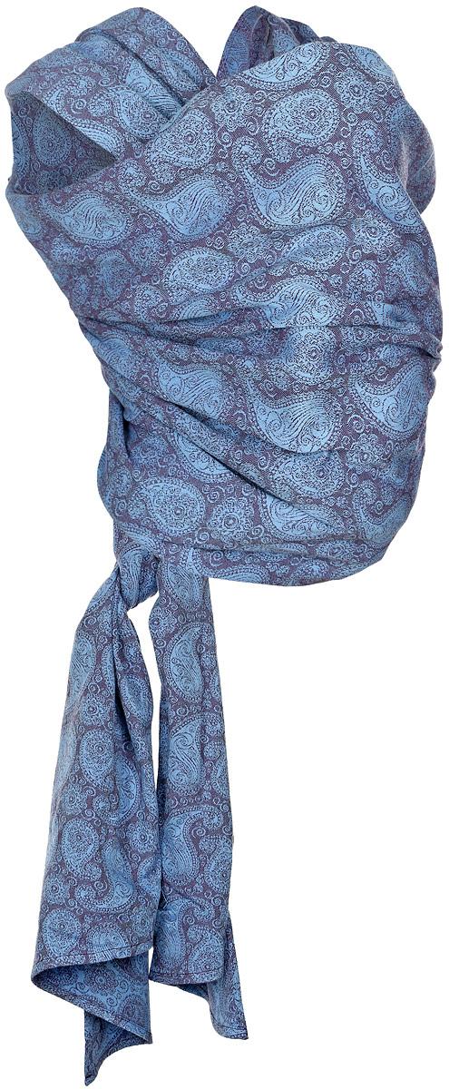 Mum's Era Слинг-шарф Пейсли цвет фиолетовый синий