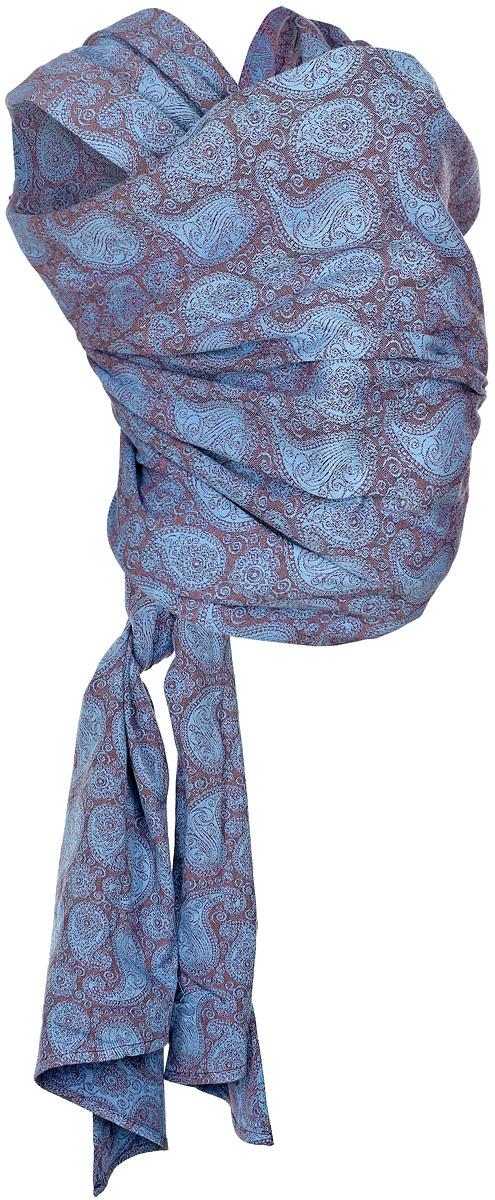 Mums Era Слинг-шарф Пейсли цвет коричневый синий