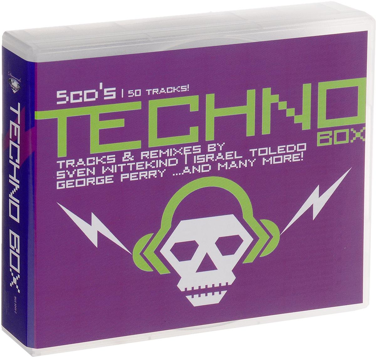 Diamonds. Techno Box (5 CD) 2015 5 Audio CD