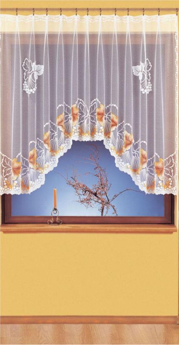 Гардина Wisan, цвет: белый, ширина 300 см, высота 150 см. 93019301вид крепления - под зажимы для штор Размеры: ширина 300*высота 150