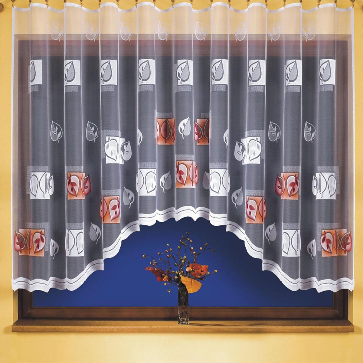 Гардина Wisan, цвет: белый, ширина 300 см, высота 150 см. 93879387вид крепления - под зажимы для штор Размеры: ширина 300*высота 150