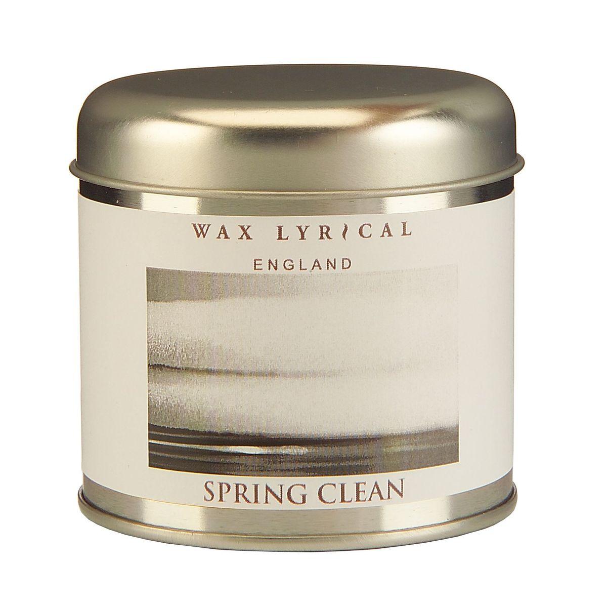 Свеча ароматизированная Wax Lyrical Впечатления, весенняя свежесть, 230 гWLT8712Впечатляющий аромат свежего ветра в чистом доме. Время горения: 35 часов.