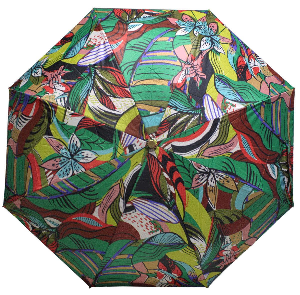 PERTEGAZ 85151-3 Зонт полный автом. 3 сл. жен.85151-3Зонт испанского производителя Clima. В производстве зонтов используются современные материалы, что делает зонты легкими, но в то же время крепкими.Полный автомат, 3 сложения, 8 спиц, полиэстер.