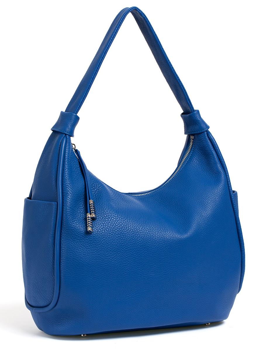 Сумка женская Palio, цвет: синий. 14512A114512A1Женская сумка Palio изготовлена из натуральной кожи с фактурным тиснением. Сумка закрывается на застежку-молнию. Сумка имеет одно основное отделение, в котором есть два открытых кармана для телефона и мелких принадлежностей и вшитый карман на застежке-молнии. Снаружи, с тыльной стороны сумки расположен вшитый карман на застежке-молнии. По бокам сумки также расположены открытые карманы. Изделие оснащено удобной ручкой для переноски. Основание сумки дополнено четырьмя металлическими ножками, защищающими изделие от механических повреждений. Элегантная и вместительная сумка Palio прекрасно дополнит ваш образ и подчеркнет неповторимый стиль.