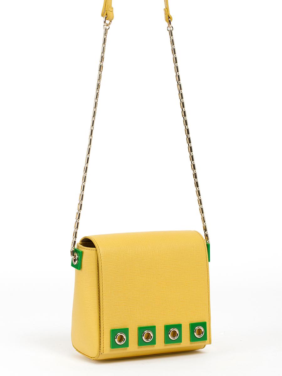Сумка кросс-боди жен. Palio, цвет: желтый, зеленый. 14513A-W114513A-W1