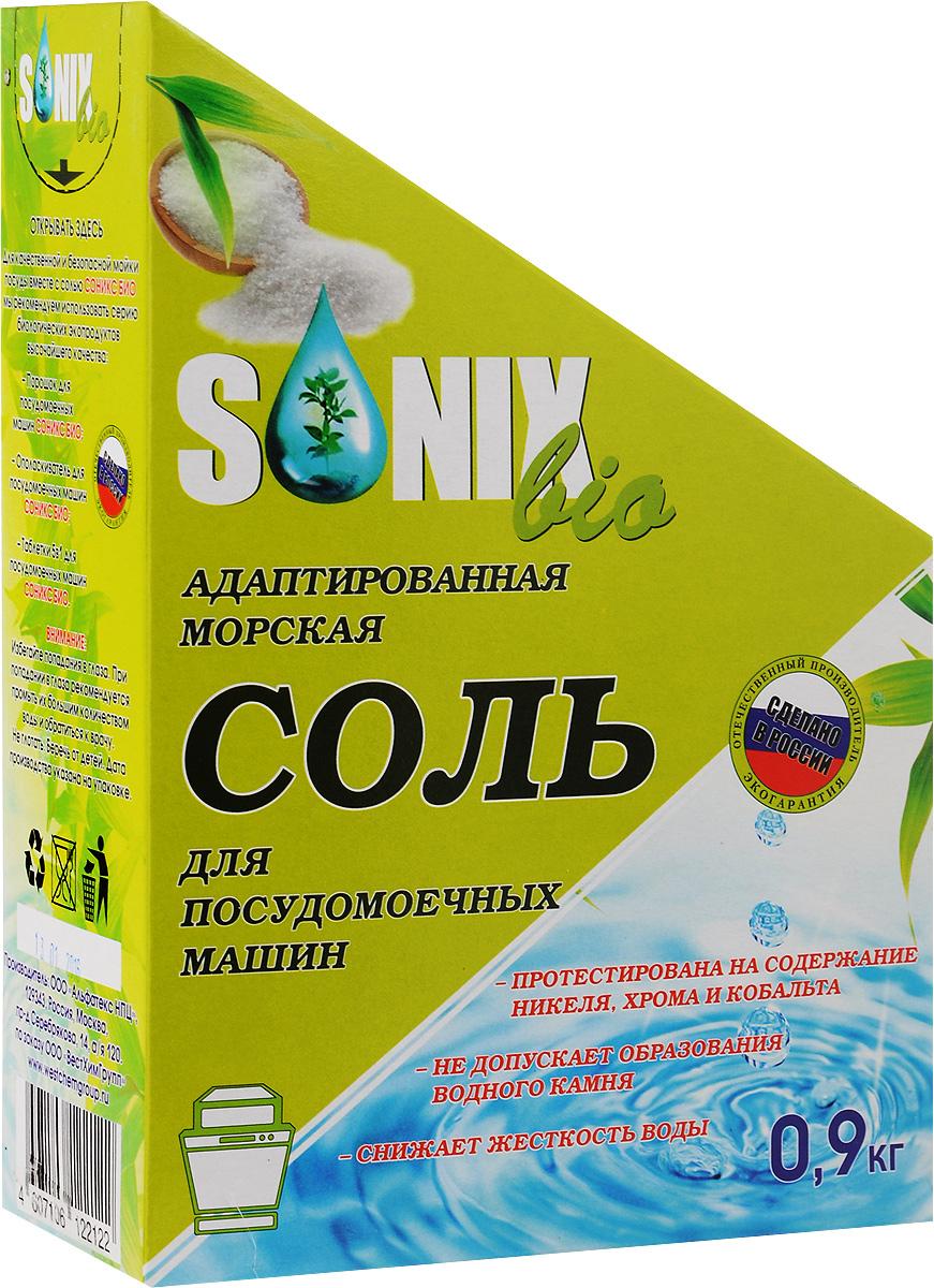 Соль для посудомоечных машин SonixBio, 900 г122122Соль SonixBio гранулирована специально для использования в посудомоечных машинах любых марок и моделей. Она позволяет снизить жесткость воды и избежать образования накипи и отложения минеральных солей. Особый размер зерна позволяет увеличить продолжительность использования 1 порции, тем самым снижая расходы соли. Состав: морская соль. Товар сертифицирован.