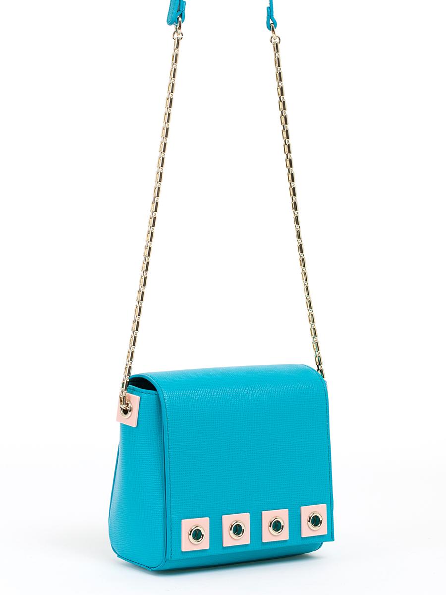 Сумка кросс-боди жен. Palio, цвет: бирюзовый, синий. 14513A-W114513A-W1