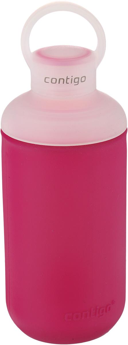 Бутылка для воды Contigo Tranquil, цвет: темно-розовый, белый, 590 млcontigo0333Бутылка для воды Contigo Tranquil изготовлена из высококачественного пластика, безопасного для здоровья. Закручивающаяся крышка обеспечивает защиту от проливания. Оптимальный объем бутылки позволяет взять небольшую порцию напитка. Она легко помещается в сумке или рюкзаке и всегда будет под рукой. Резиновый ободок на корпусе обеспечивает надежный хват и комфорт во время использования. Такая идеальная бутылка небольшого размера, но отличной вместимости наполняет оптимизмом, даря заряд позитива и хорошего настроения. Бутылка для воды Contigo Tranquil - отличное решение для прогулки, пикника, автомобильной поездки, занятий спортом и фитнесом. Высота бутылки (с учетом крышки): 22 см. Диаметр дна: 6,3 см.