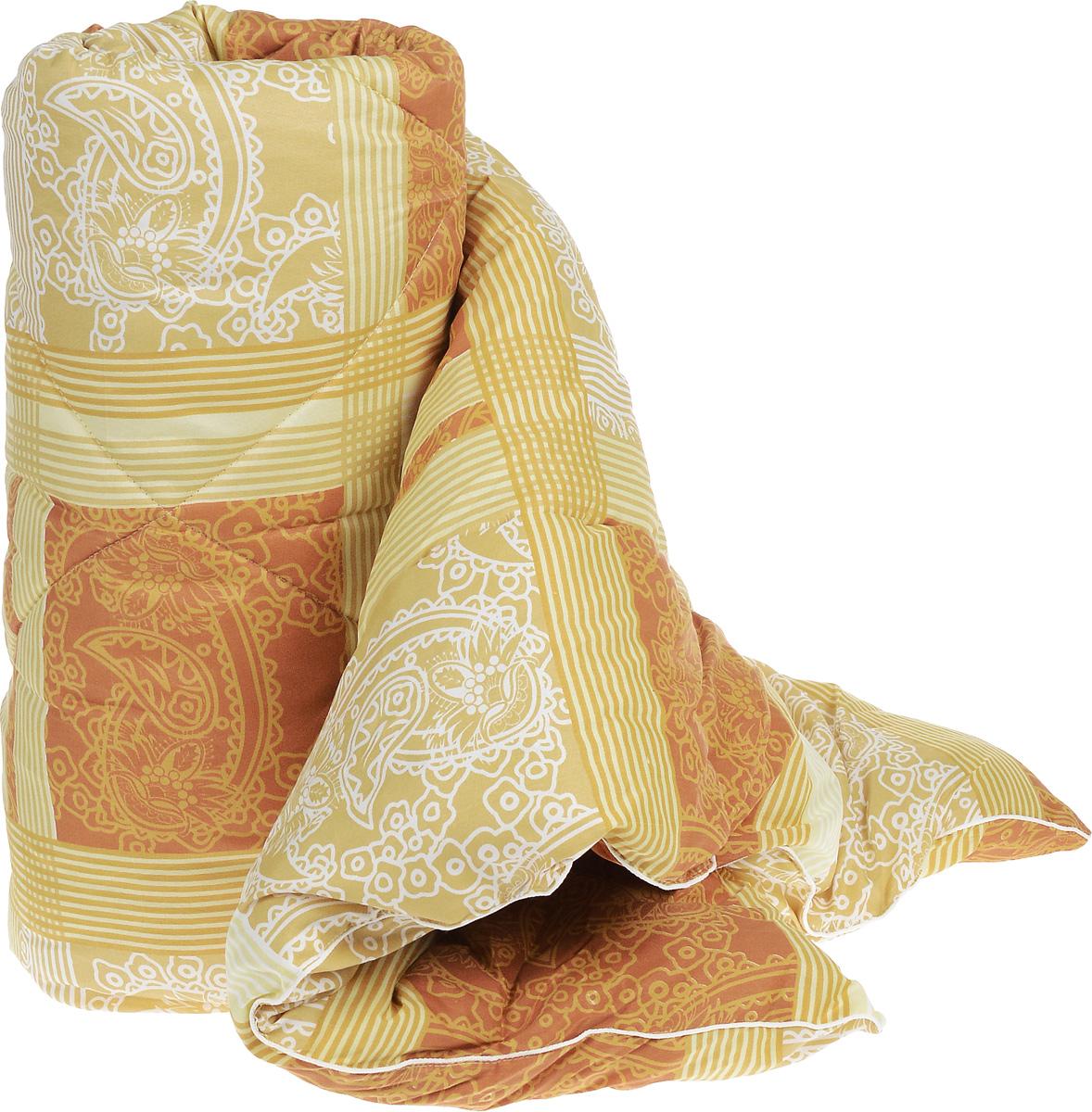 Одеяло теплое Легкие сны Золотое руно, наполнитель: овечья шерсть, цвет в ассортименте,140 x 205 см140(32)05-ОШПТеплое стеганое одеяло Легкие сны Золотое руно с наполнителем из овечьей шерсти расслабит, снимет усталость и подарит вам спокойный и здоровый сон. Шерстяные волокна, получаемые из овечьей шерсти, имеют полую структуру, придающую изделиям высокую износоустойчивость. Чехол одеяла, выполненный из смесовой ткани отлично пропускает воздух, создавая эффект сухого тепла. Одеяло простегано. Стежка надежно удерживает наполнитель внутри и не позволяет ему скатываться. Рекомендации по уходу: Отбеливание, стирка, барабанная сушка и глажка запрещены. Разрешается химчистка. Уважаемые клиенты! Товар поставляется в цветовом ассортименте. Поставка осуществляется в зависимости от наличия на складе.