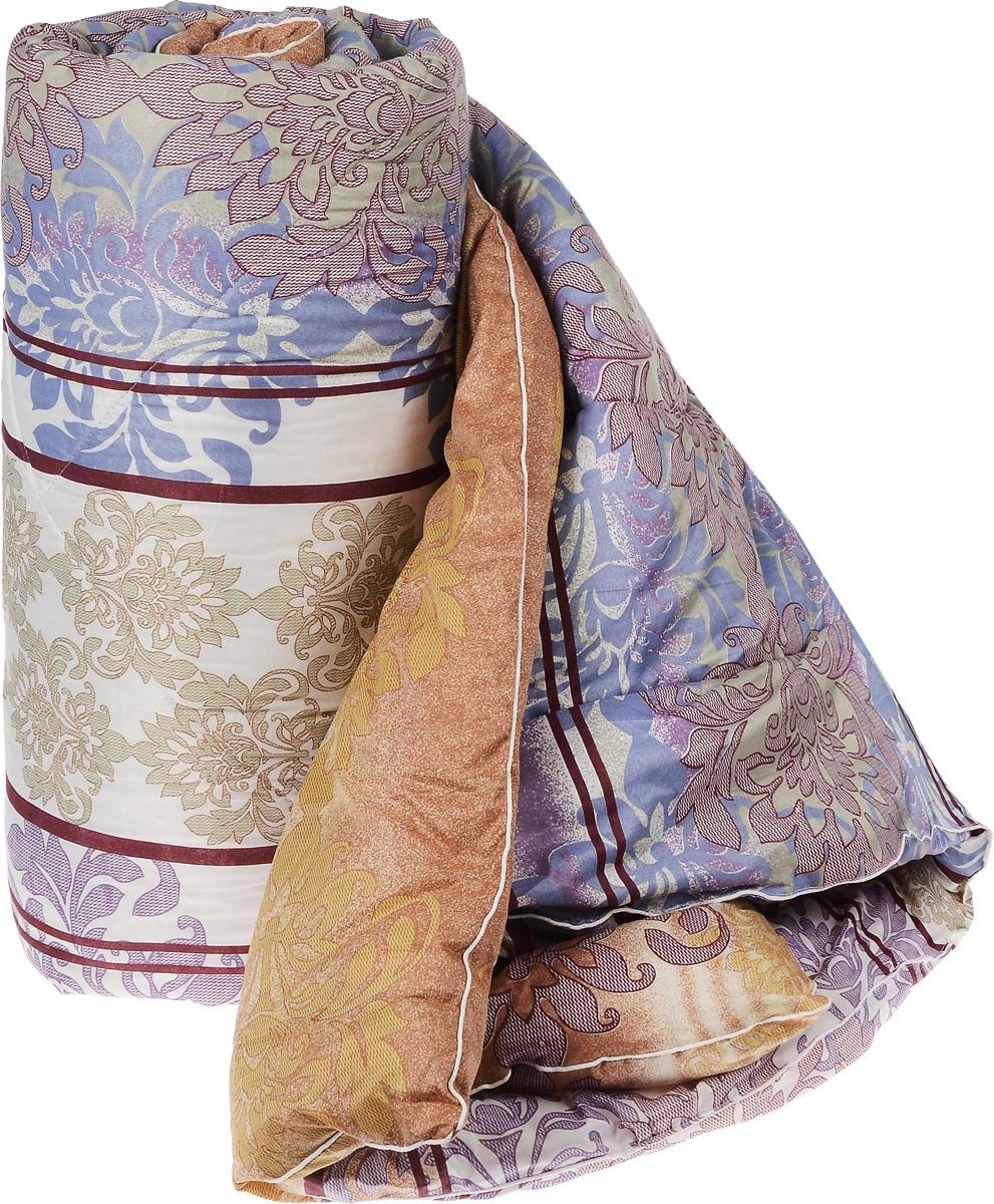 Одеяло теплое Легкие сны Золотое руно, наполнитель: овечья шерсть, 200 х 220 см200(32)05-ОШПТеплое стеганое одеяло Легкие сны Золотое руно с наполнителем из овечьей шерсти расслабит, снимет усталость и подарит вам спокойный и здоровый сон. Шерстяные волокна, получаемые из овечьей шерсти, имеют полую структуру, придающую изделиям высокую износоустойчивость. Чехол одеяла, выполненный из смесовой ткани отлично пропускает воздух, создавая эффект сухого тепла. Одеяло простегано. Стежка надежно удерживает наполнитель внутри и не позволяет ему скатываться. Уважаемые клиенты! Обращаем ваше внимание на цветовой ассортимент товара. Поставка осуществляется в зависимости от наличия на складе.