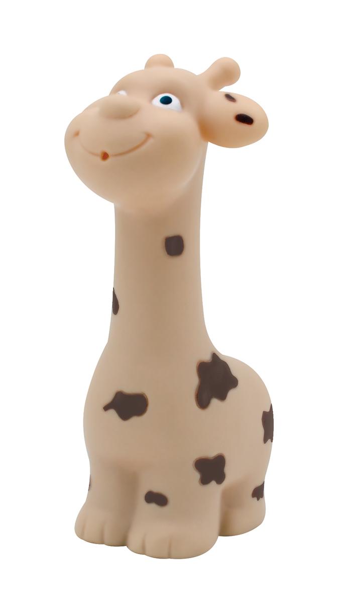 Lubby Игрушка для ванной Жираф15649Игрушка для купания Жираф-пищалка понравится Малышам. Жирафик превратит мытье Ребенка в веселую игру. Удобная форма и расцветка, приближенная к натуральной, сделают игрушку самой любимой.