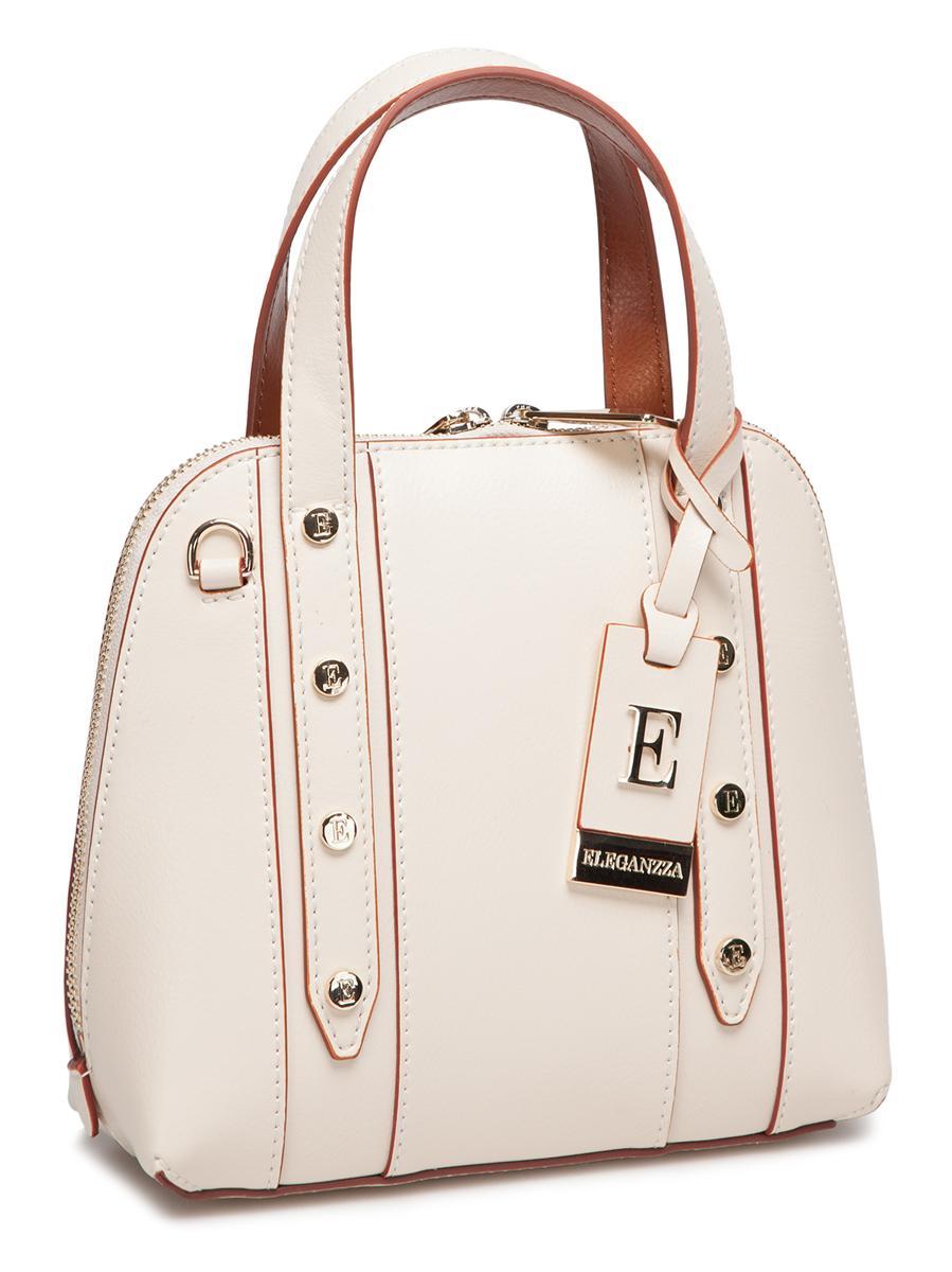 Сумка жен. Eleganzza, цвет: светло-бежевый, коричневый. Z-2753-1Z-2753-1