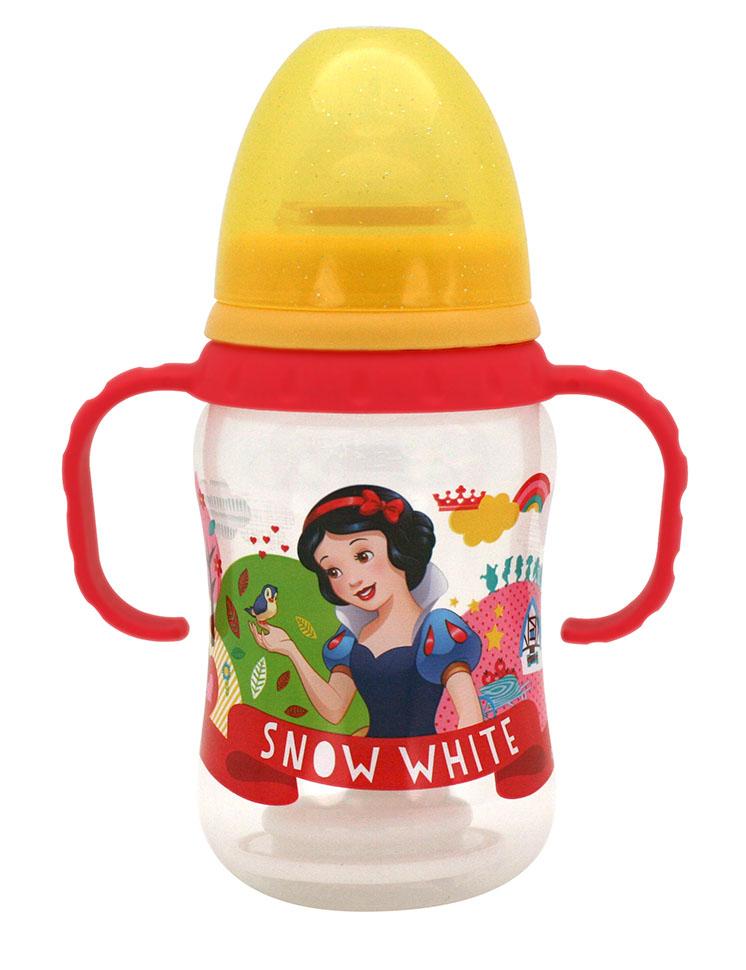 Lubby Бутылочка Принцессы с силиконовой соской в ассортименте