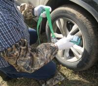 Нарукавники и коврик-мешок под колени