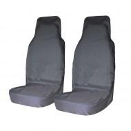 Комплект грязезащитных чехлов на передние сиденья Tplus, с мешком для хранения, цвет: серый, 2 штT001266Материал: оксфорд; Цвет: серый; Наличие кармана на тыльной стороне: да; Количество чехлов: 2 шт.; Мешок для хранения: 1 шт.