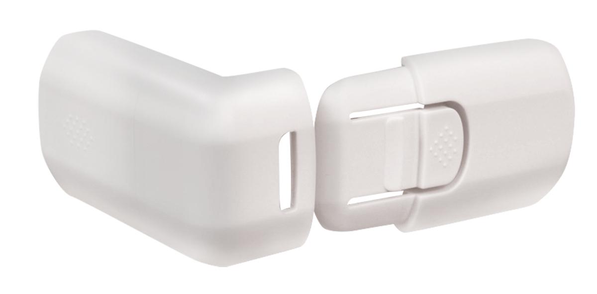 Lubby Защитный замок для выдвижных шкафчиков13577Замок не позволяет ребенку открывать выдвижные шкафчики и прищемить пальцы. Крепится на деревянные, пластмассовые, а также стеклянные поверхности.