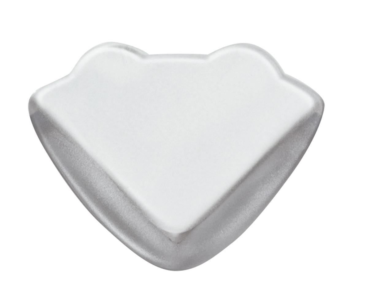 Lubby Защитный уголок Накладки прозрачные матовые прямоугольные 4 шт