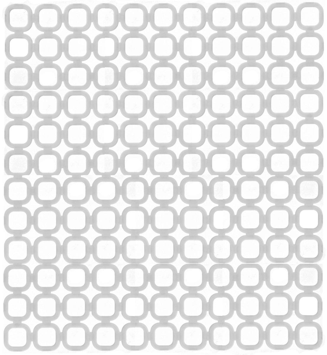 Коврик для раковины Tescoma Online, цвет: белый, 29 x 27 см900842Стильный и удобный коврик для раковины Tescoma Online выполнен из пластика. Он одновременно выполняет несколько функций: украшает, защищает мойку от царапин и сколов, смягчает удары при падении посуды в мойку, препятствует разбрызгиванию струи воды. Коврик также можно использовать для сушки посуды, фруктов и овощей. Можно мыть в посудомоечной машине.