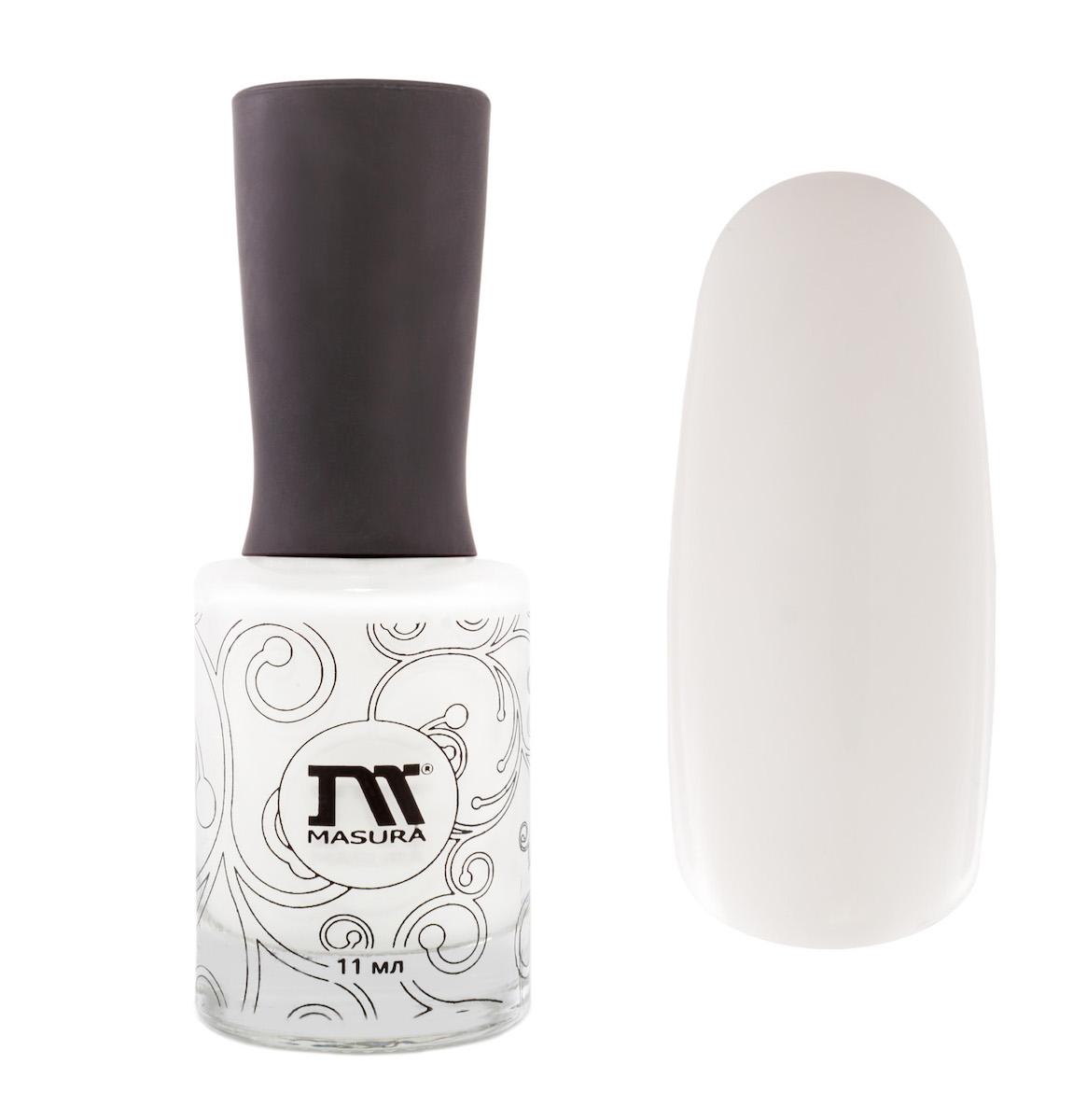 Masura Лак для ногтей Белый Танец, 11 мл1002Кипельно-белый, для французского маникюра.