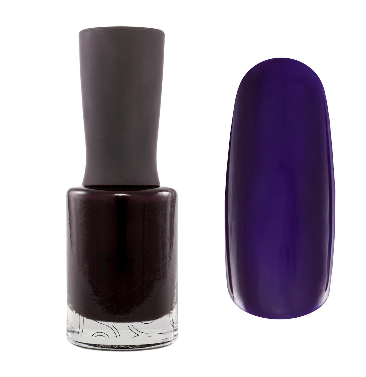 Masura Лак для ногтей Для Него, 11 мл1034чернильный желейный с фиолетовый подтоном, лаковая версия гель-лака MASURA MASCULINE Для Него