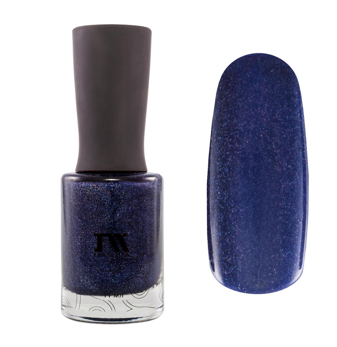 Masura Лак для ногтей Это Мой День, 11 мл1035фиолетовый с серым подтоном, с явным голографическим мерцанием