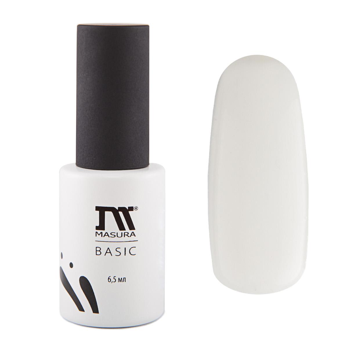 Masura BASIC White Base/Белая основа для гель-лаков 6,5 мл294-00Белая база рекомендуется для применения с неплотными, полупрозрачными цветными гель-лаками. Требует применения праймера (артикул 312).